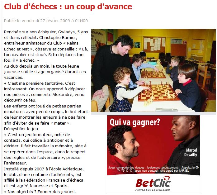 gagner aux échecs